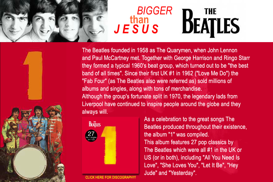 Website The Beatles