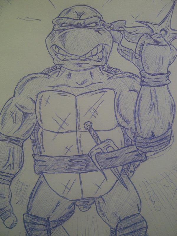 Ninja Turtle sketch: Raphael