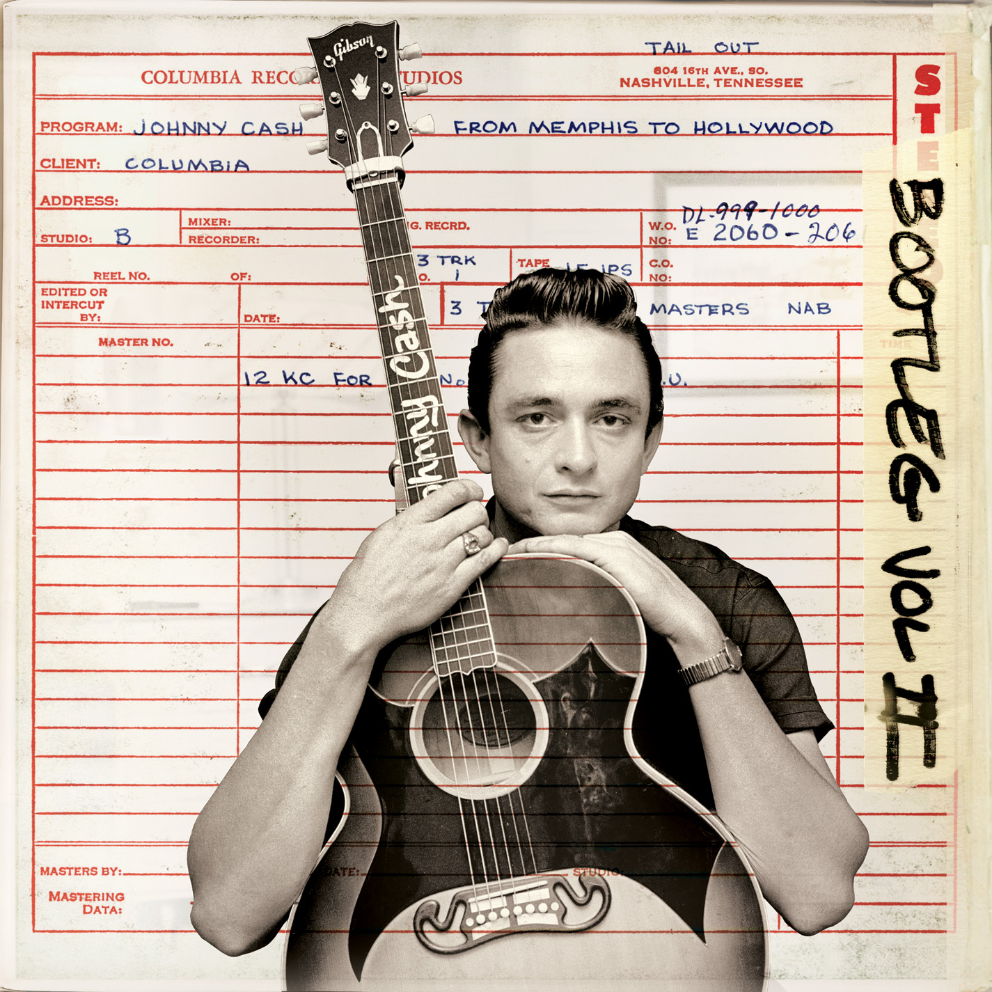 Johnny Cash – Bootleg Vol. II: From Memphis To Hollywood