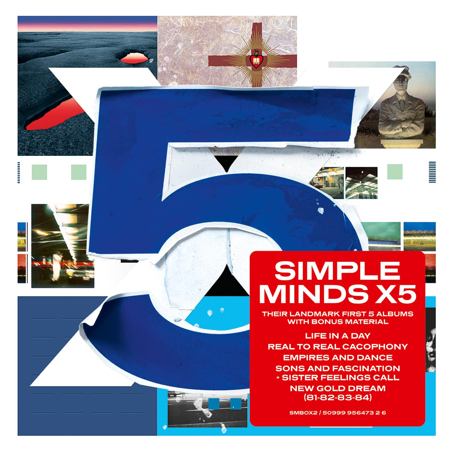 Simple Minds – X5