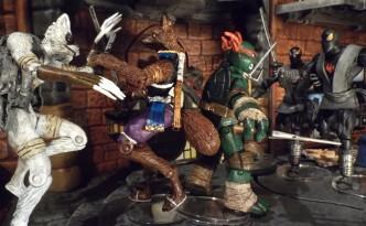 Raphael, Ninjara, Alopex (foto: Secret Nipple Lasers)