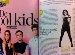 Echosmith in Veronica Magazine (foto: Pierre Oitmann)