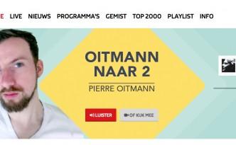 Pierre Oitmann naar NPO Radio 2